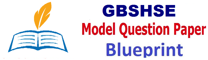Goa Board 12th Mock Test Paper 2019