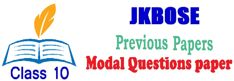JKBOSE 10th Model Papers 2019 J&K SSC Sample Papers 2019
