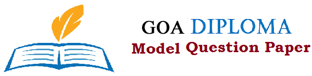 Goa Polytechnic & Diploma Model Questions Papers 2019