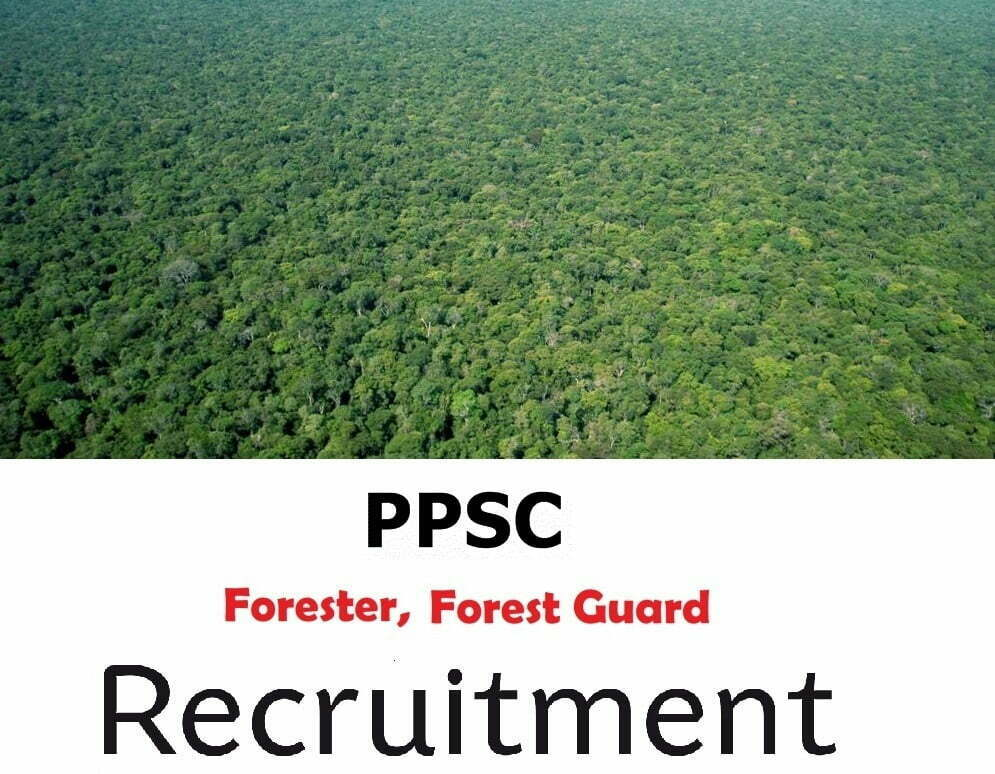 Punjab Forests & Wildlife Preservation Recruitment 2019